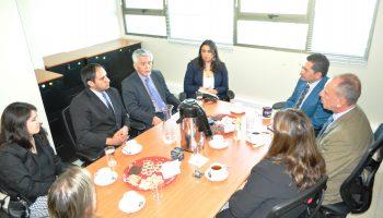 Ministro Contreras y jueces Garantia Arica 1